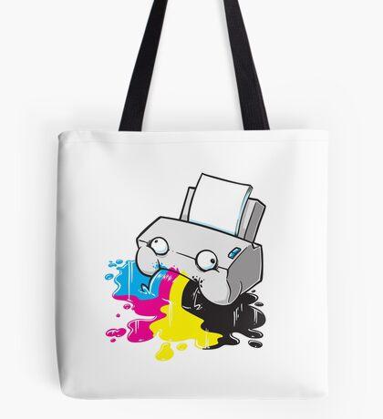Puker Printer Tote Bag