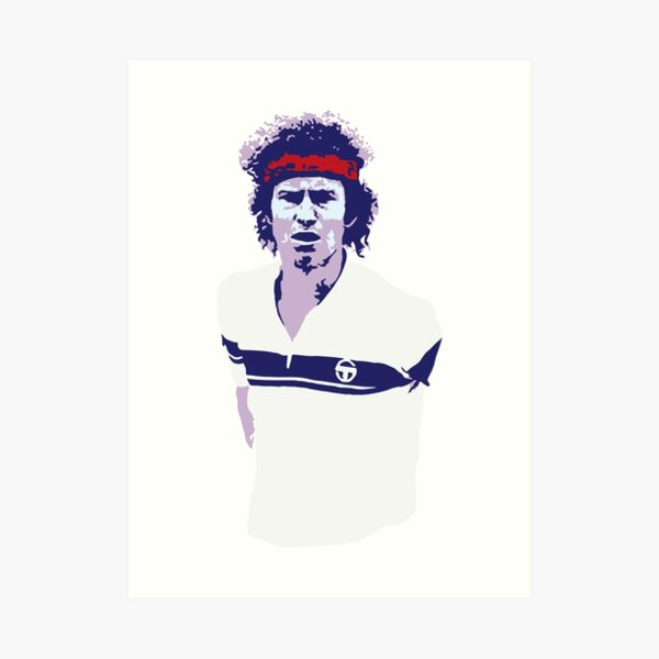 John McEnroe Art Print