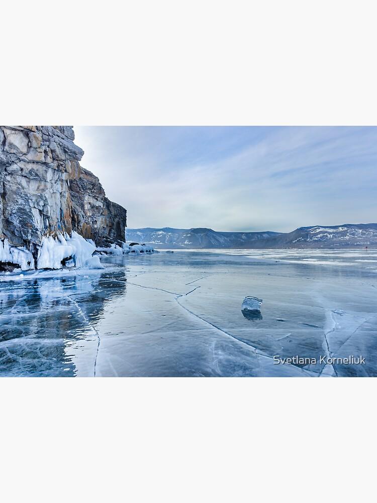 Lake Baikal. March by SvetlanaKorneli