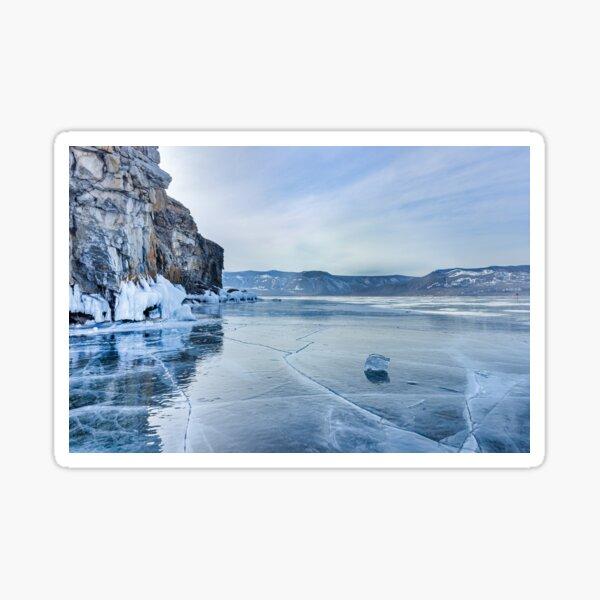 Lake Baikal. March Sticker