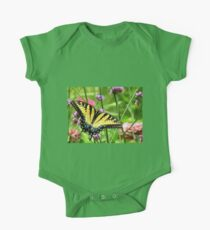 Yellow Tiger Swallowtail  Kids Clothes