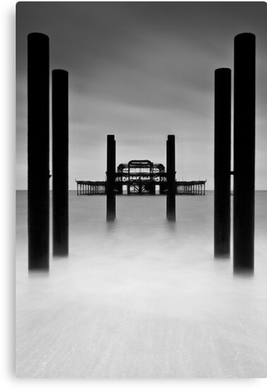 West Pier by Leon Ritchie