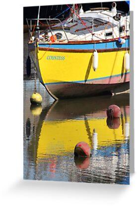 Yellow Boat by Samantha Higgs