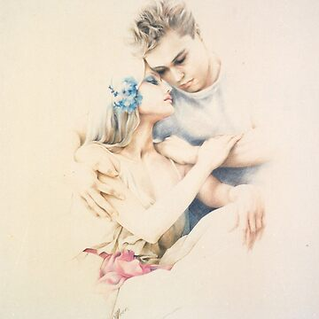 """Tender Moments"" Colour Pencil Art by sara-moon"