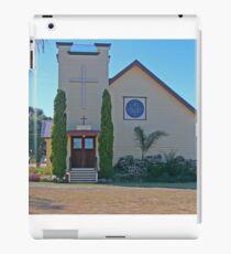 Holy Trinity Lutheran Church, Nobby, Qld, Australia iPad Case/Skin