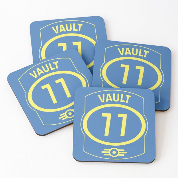 Vault 77 - Fallout Coasters (Set of 4)