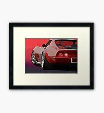 1969 Corvette Stingray VS2 Framed Print