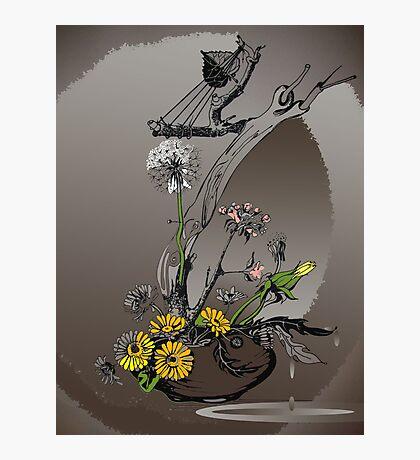 My flowers(3) Photographic Print