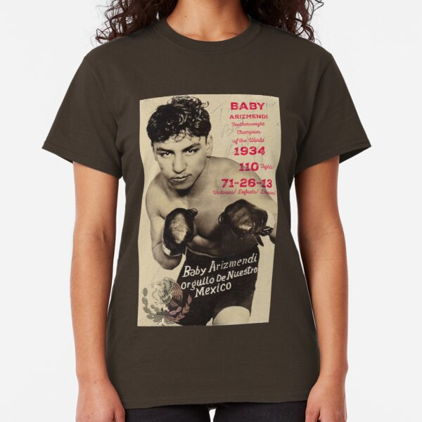 Boxing & Boxers: Mexican Featherweight Champion Classic T-Shirt