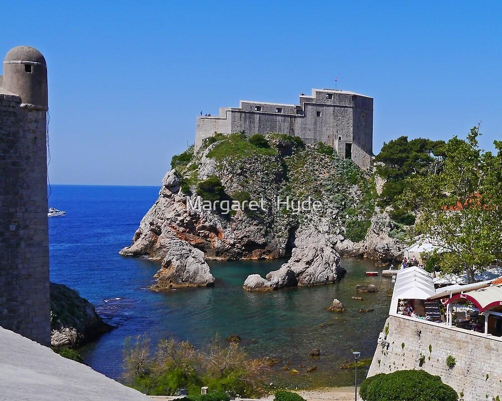 Lovrijenac Fortress, Dubrovnik, Croatia by Margaret  Hyde