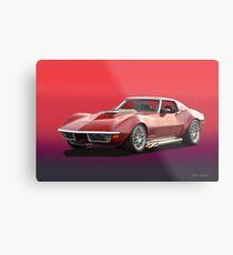 1969 Corvette Stingray Metal Print