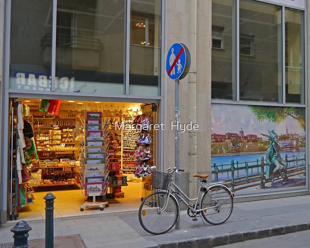 Souvenier shop, Budapest, Hungary (2) by Margaret  Hyde