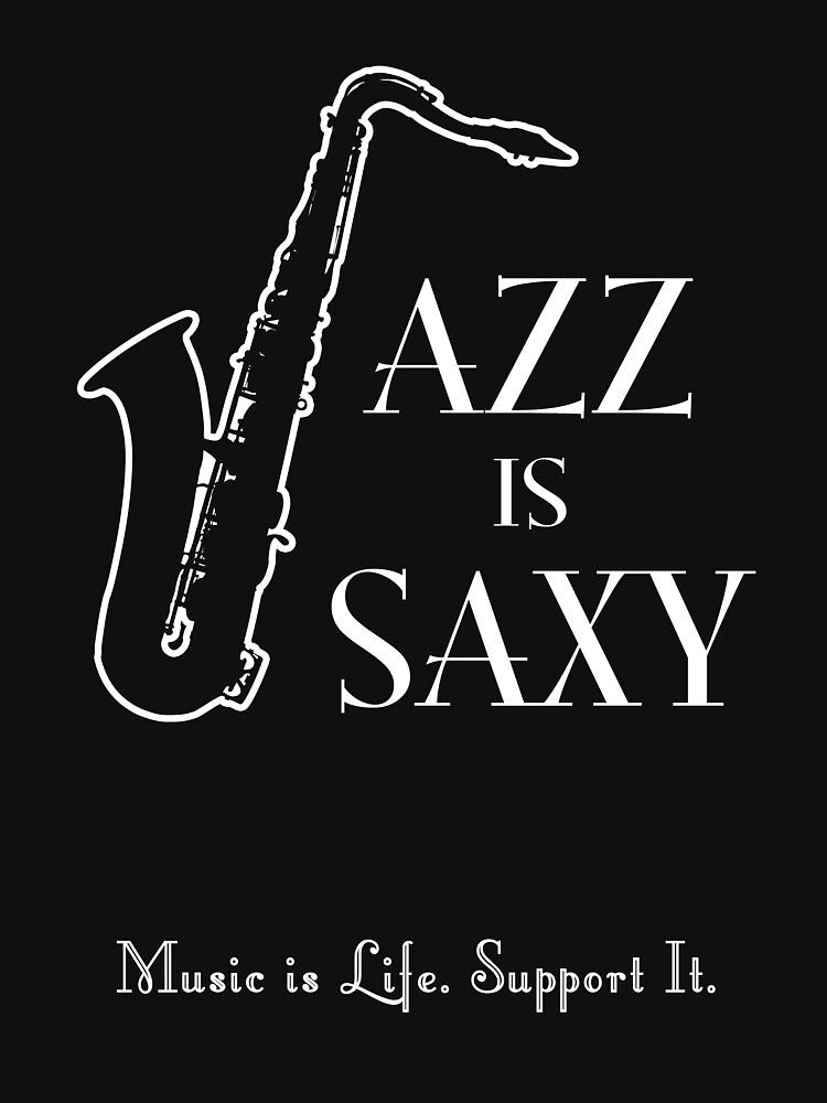 Jazz is Saxy by oddmetersam