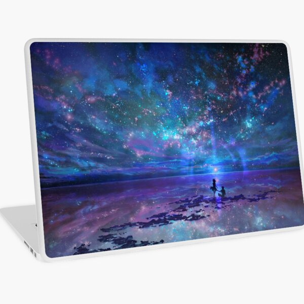 Ocean, Stars, Sky, and You Laptop Skin