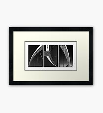 Music | Maths | Masonry Framed Print