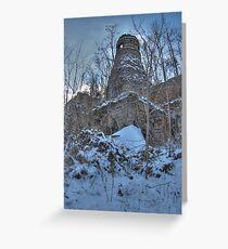 Furnace Greeting Card