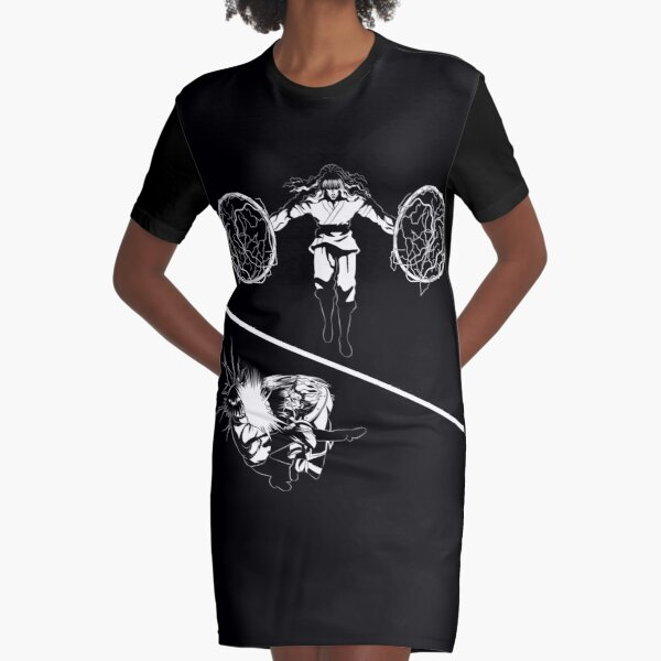 Assassins - Black Graphic T-Shirt Dress