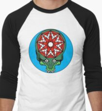 King Gizzard - GIZZHEAD STEALIE Baseball ¾ Sleeve T-Shirt