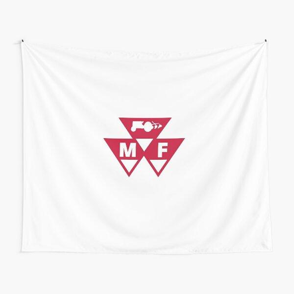 2 MASSEY FERGUSON BANDANA-RED FLAG---TRACTOR