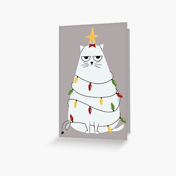 grumpy cat Greeting Card