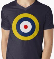 Royal Air Force A1 Insignia Men's V-Neck T-Shirt