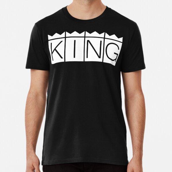 Camiseta | Nicky jam negra KING  Camiseta premium