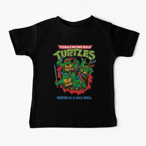 Heroes In A Half Shell (80s throwback design) Baby T-Shirt