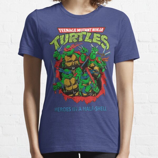 Heroes In A Half Shell (80s throwback design) Essential T-Shirt