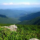 Mountain View - Blue Ridge Mountains by glennc70000
