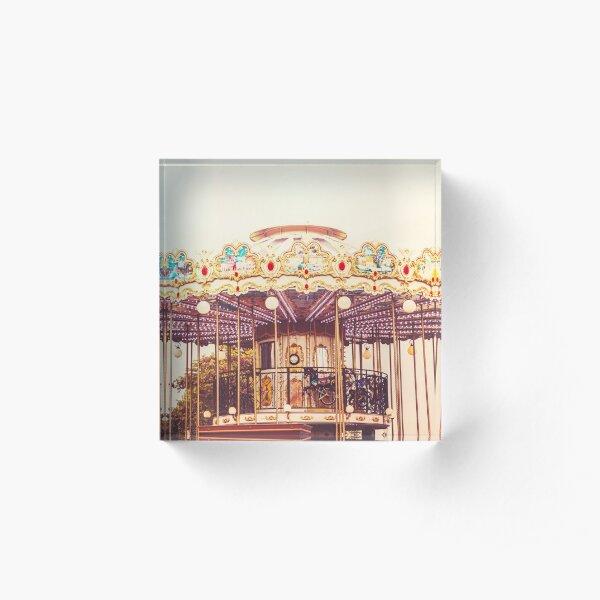 Carousel Acrylic Block