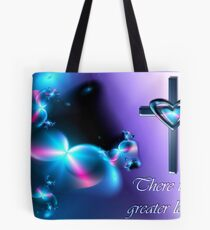 No Greater Love - Card Format Tote Bag