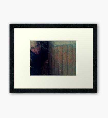 04-07-11:  Me As Bum Framed Print