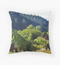 Near Long Creek, Oregon Throw Pillow