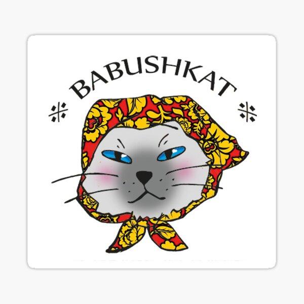 Babushkat Sticker