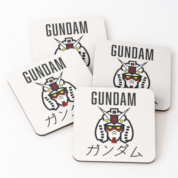 Gundam RX-78-2 Icon Coasters (Set of 4)