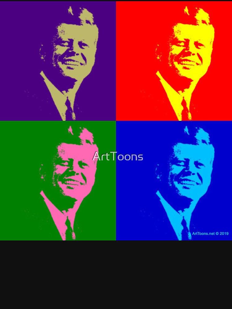 JFK Pop Art by ArtToons