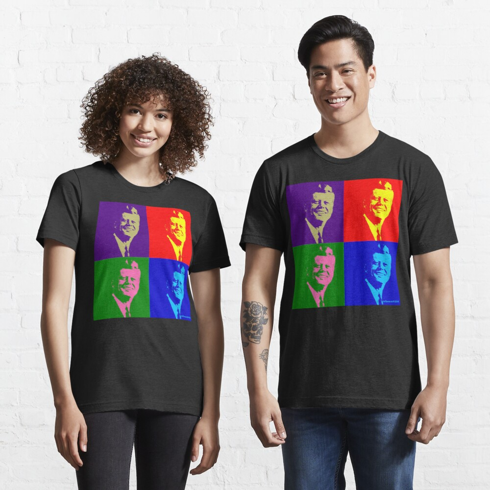 JFK Pop Art Essential T-Shirt