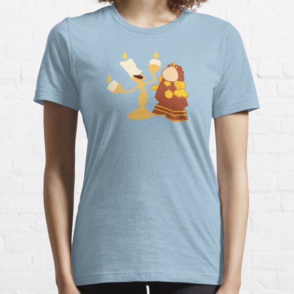 A talking clock and his singing candlestick Essential T-Shirt