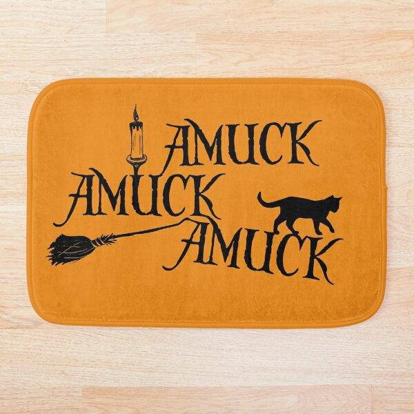 Amuck Amuck Amuck... Bath Mat