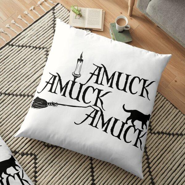 Amuck Amuck Amuck... Floor Pillow
