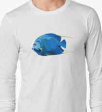 French Angelfish Long Sleeve T-Shirt