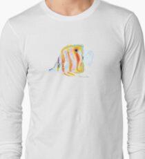 Copperhead Butterfly Fish Long Sleeve T-Shirt