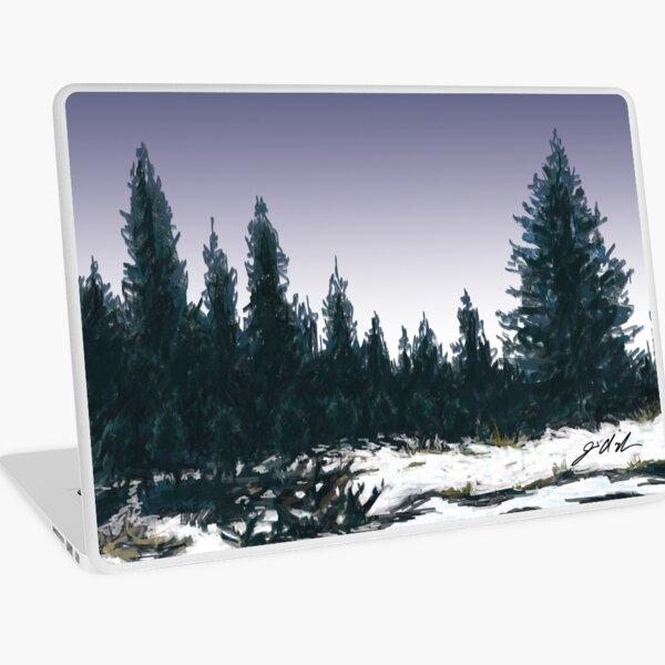 Upper Truckee River Sunset Laptop Skin
