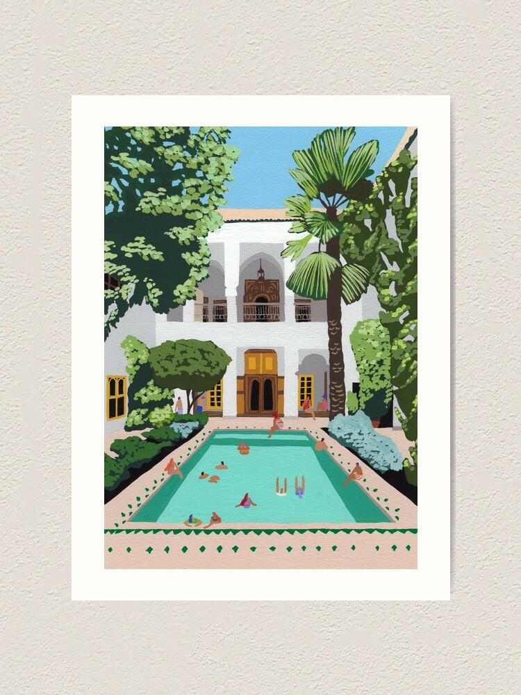Alternate view of Marrakech Riad Art Print