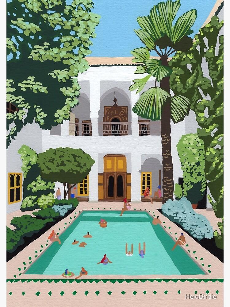 Marrakech Riad by HeloBirdie