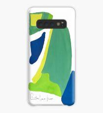 Peacock Abstract No.4 Case/Skin for Samsung Galaxy