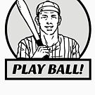 Play Ball!! by Gail Francis (GaFra)