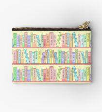 Classics Bookshelf Zipper Pouch