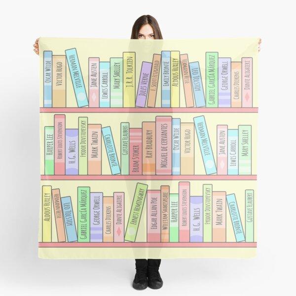 Classics Bookshelf Scarf
