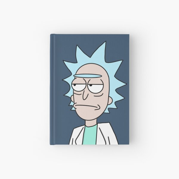 Rick and Morty Hardcover Journal